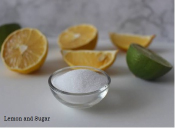 lemon and sugar homemade hair removal wax
