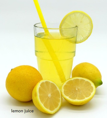 teeth whitening with lemon juice