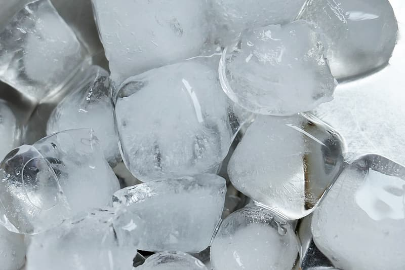 ice-cubes for shin conditioning