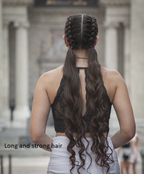 Long and strong hair
